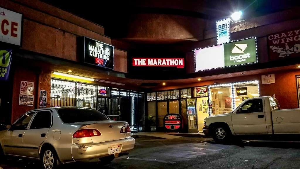 THE MARATHON CLOTHING - clothing store  | Photo 10 of 10 | Address: 3420 W Slauson Ave F, Los Angeles, CA 90043, USA | Phone: (323) 815-4959
