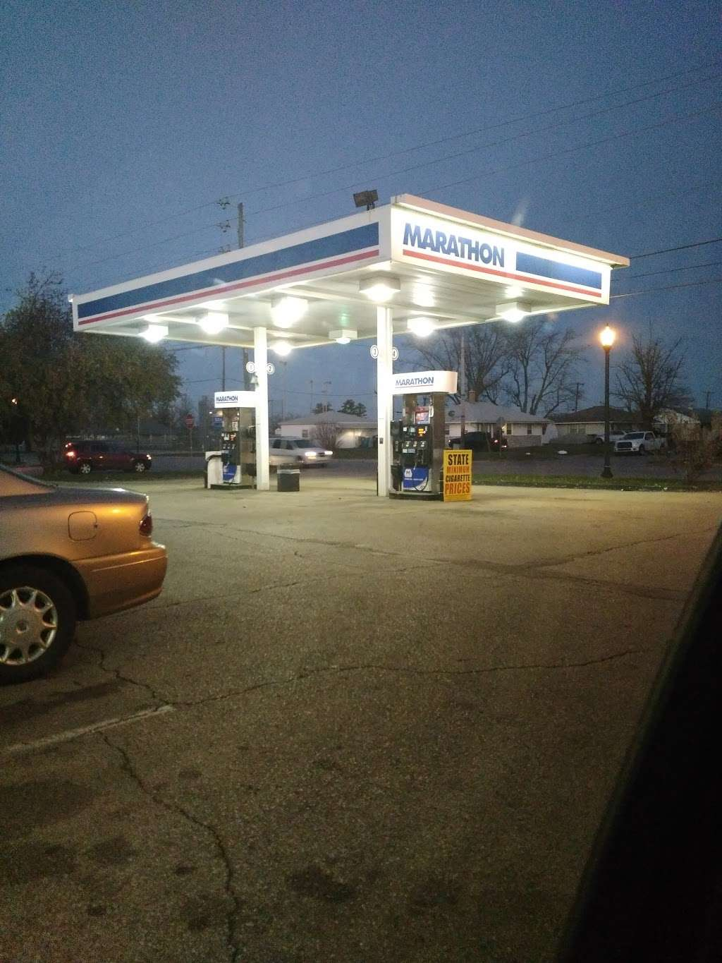 Marathon Gas - gas station    Photo 1 of 1   Address: 5190 N Franklin Rd, Indianapolis, IN 46226, USA   Phone: (317) 542-7126