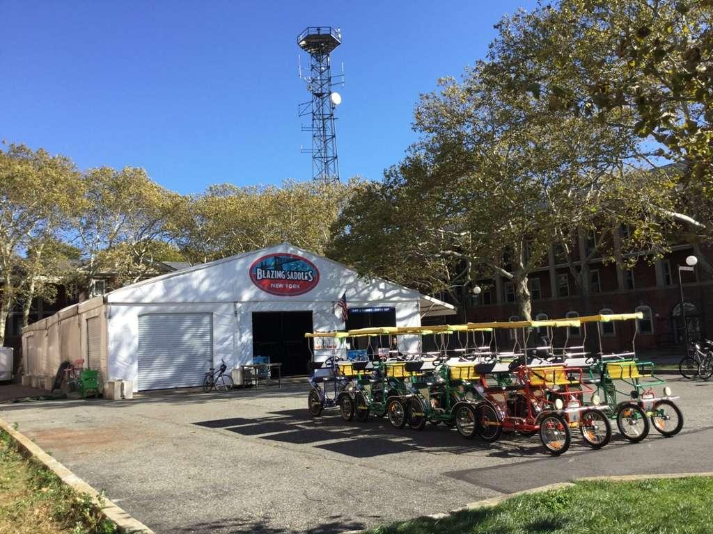 Blazing Saddles Bike Rentals & Tours - travel agency  | Photo 1 of 9 | Address: 698 Division Rd, New York, NY 10004, USA | Phone: (917) 440-9094