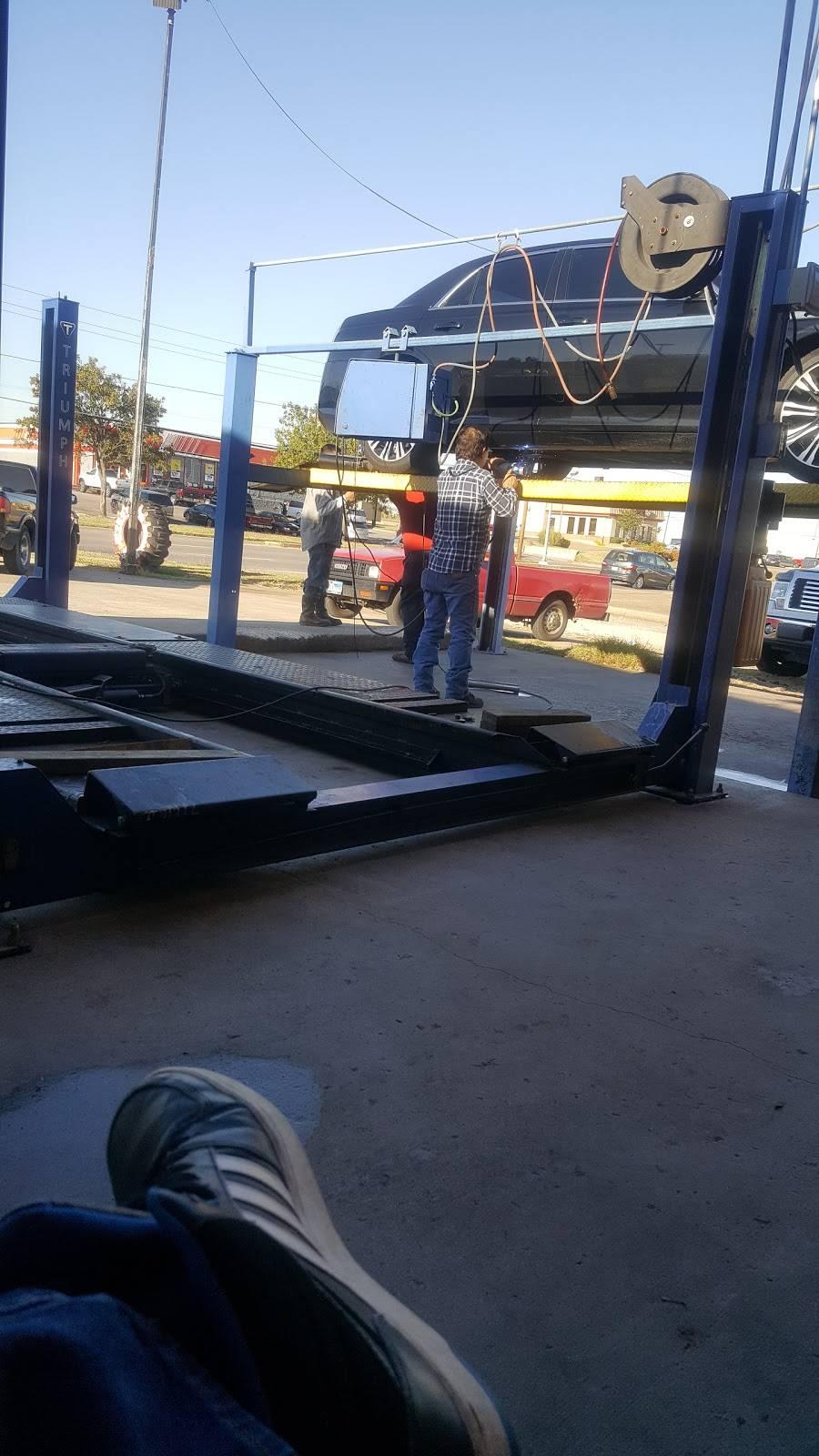 Santos Radiator & Muffler - car repair  | Photo 1 of 2 | Address: 2000 Fort Worth Ave, Dallas, TX 75208, USA | Phone: (214) 942-6265