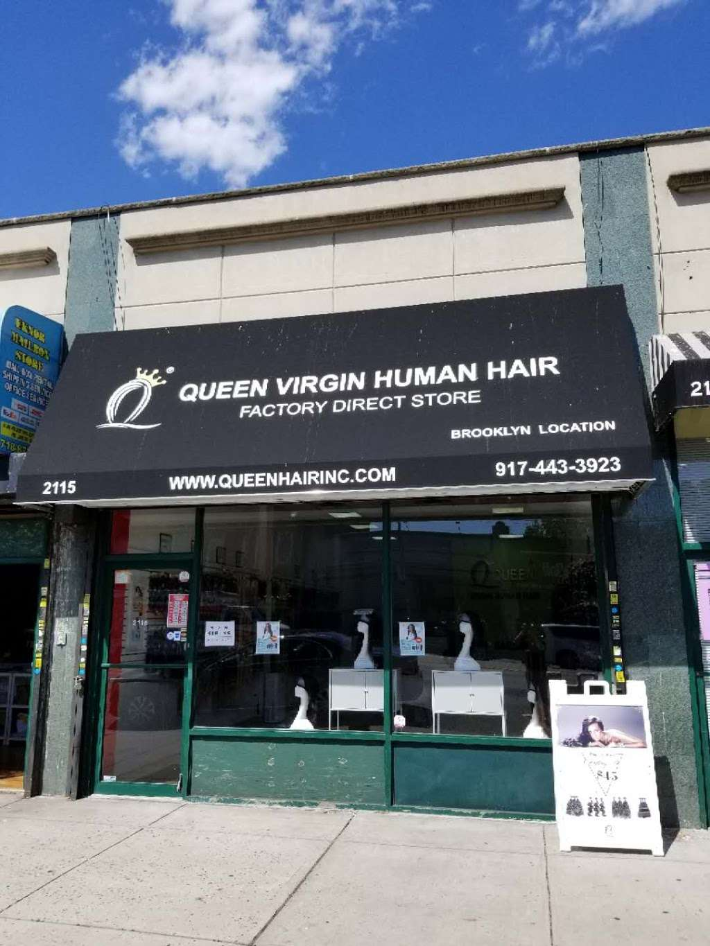 Queen virgin human hair Brooklyn Store - store  | Photo 9 of 10 | Address: 2115 Flatbush Ave, Brooklyn, NY 11234, USA | Phone: (917) 443-3923