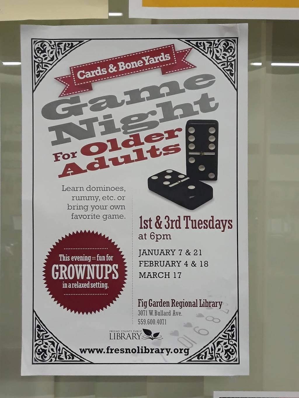 Fig Garden Regional Library - library  | Photo 4 of 4 | Address: 3071 W Bullard Ave, Fresno, CA 93711, USA | Phone: (559) 600-4071