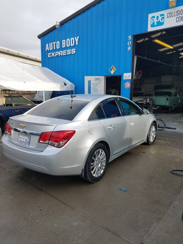 Auto Body Express - car repair    Photo 1 of 8   Address: 903 Williams St, San Leandro, CA 94577, USA   Phone: (510) 346-2886