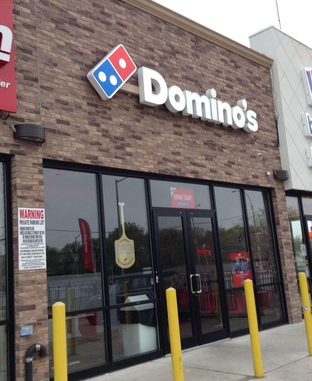 Dominos Pizza - meal delivery    Photo 3 of 10   Address: 150-13 Cross Bay Blvd, Ozone Park, NY 11417, USA   Phone: (718) 738-2424