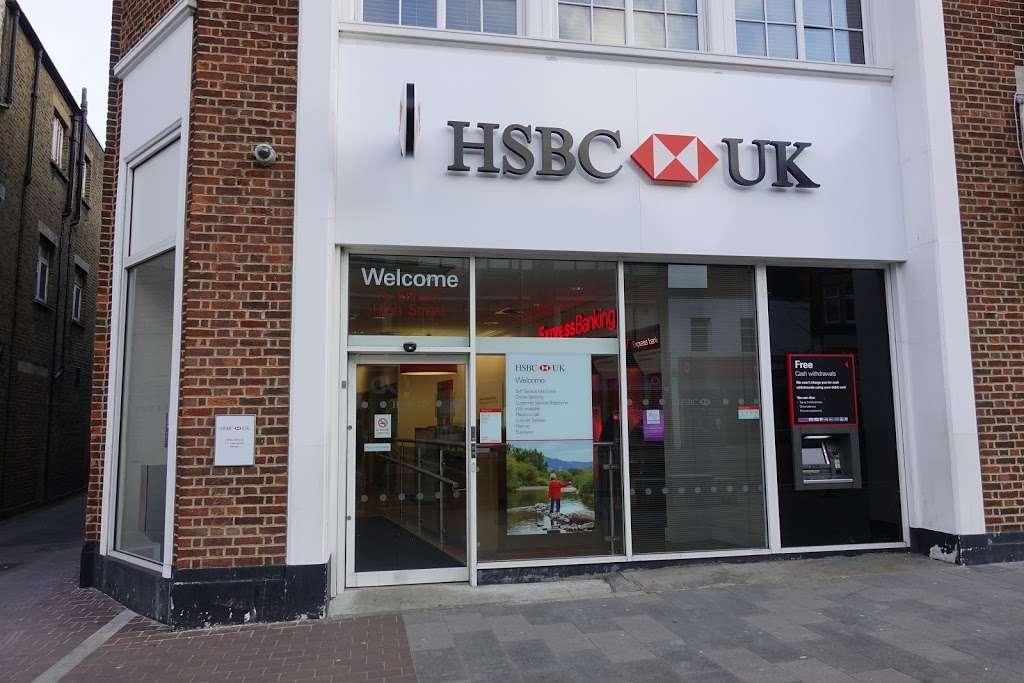 HSBC - Bank | 111 Eltham High St, London SE9 1PT, UK