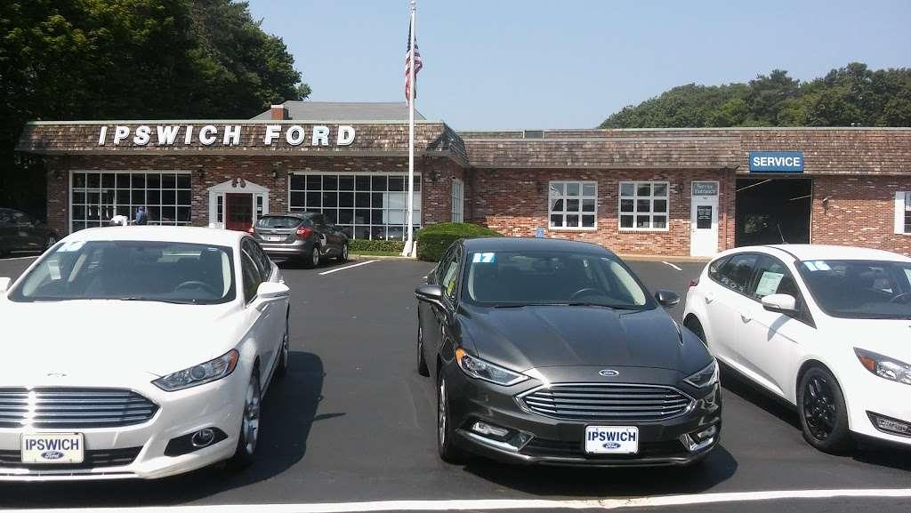 Ipswich Ford, Inc. - car repair    Photo 1 of 8   Address: 105 County Rd, Ipswich, MA 01938, USA   Phone: (978) 356-6850