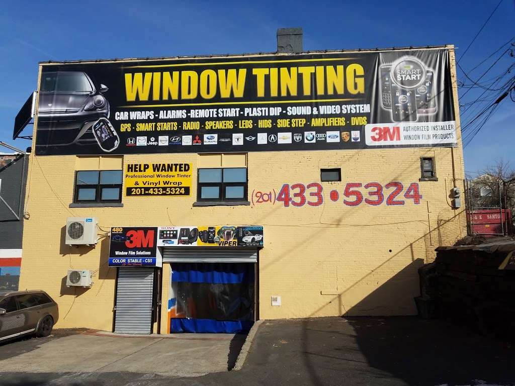 BOUBA WINDOW TINTING & AUTO ALARMS - car repair  | Photo 4 of 10 | Address: 480 Tonnelle Ave, Jersey City, NJ 07307, USA | Phone: (201) 433-5324