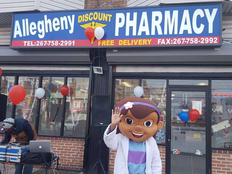 ALLEGHENY DISCOUNT PHARMACY - pharmacy    Photo 1 of 2   Address: 2704 W Allegheny Ave, Philadelphia, PA 19132, USA   Phone: (267) 758-2990