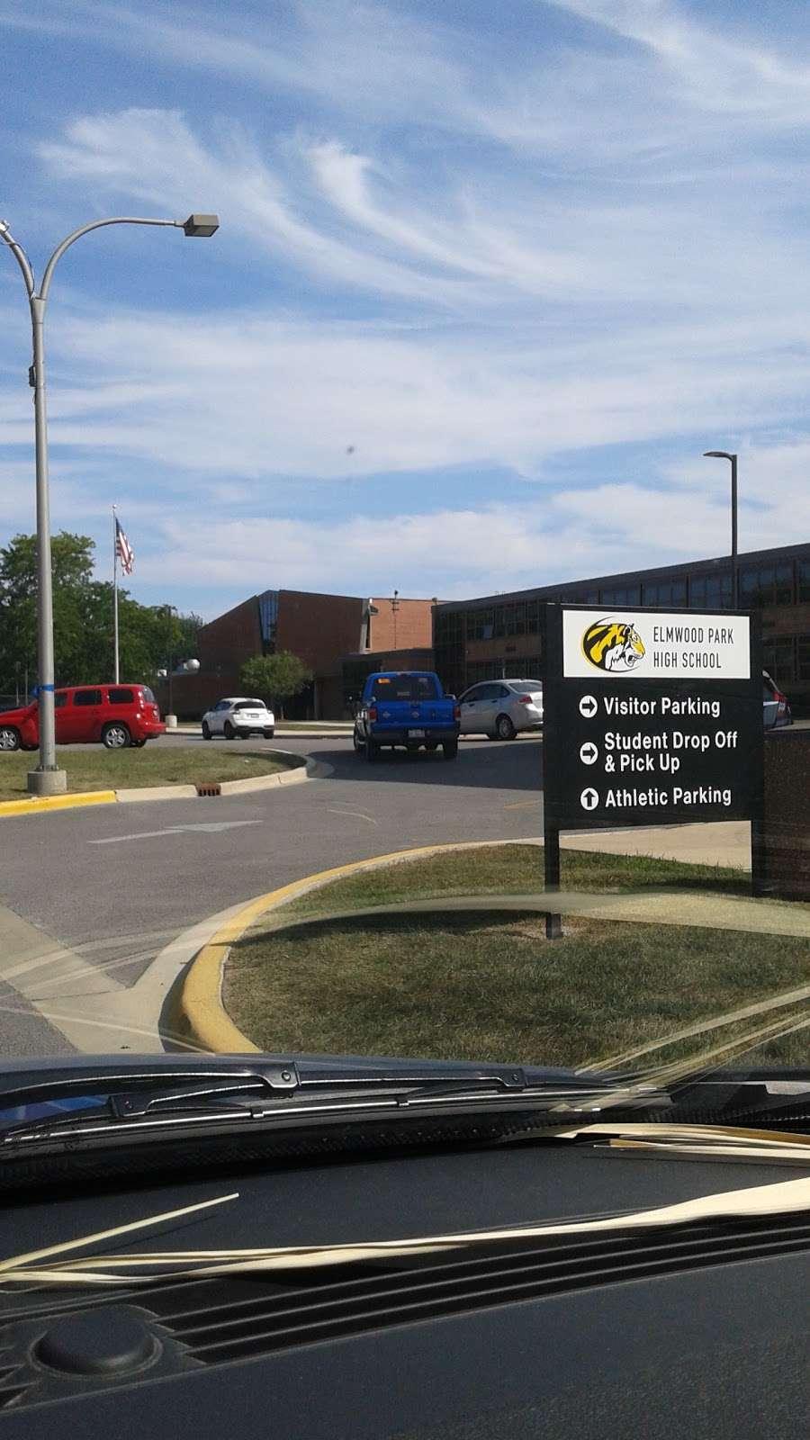 Elmwood Park High School - school  | Photo 6 of 6 | Address: 8201 W Fullerton Ave, Elmwood Park, IL 60707, USA | Phone: (708) 452-7272