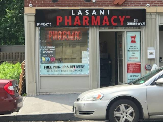 Lasani Pharmacy - pharmacy  | Photo 10 of 10 | Address: 381 Communipaw Ave, Jersey City, NJ 07304, USA | Phone: (201) 685-7332