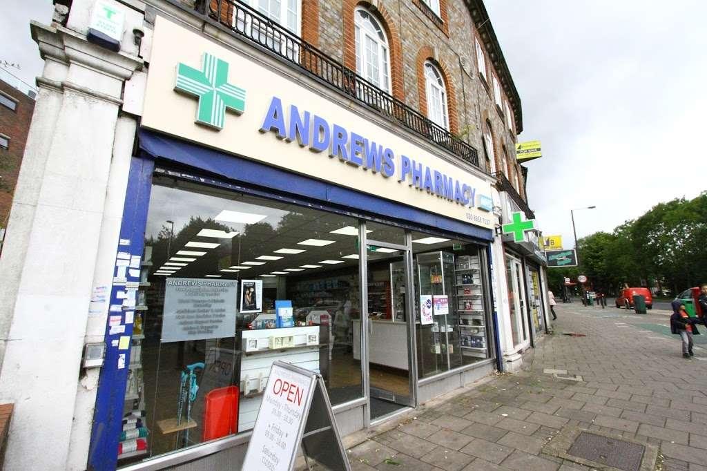 Andrews Pharmacy - pharmacy    Photo 3 of 10   Address: 9 Canons Corner, Stanmore, Edgware HA8 8AE, UK   Phone: 020 8958 7137