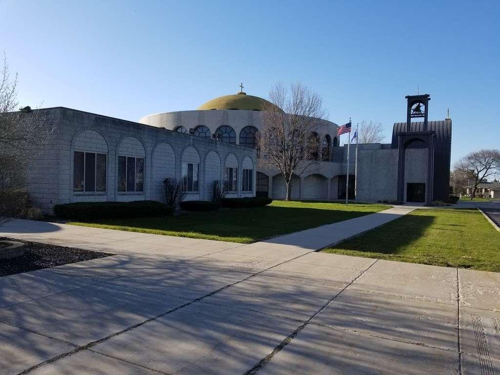 Sts Constantine & Helen Greek Orthodox Church - church  | Photo 7 of 10 | Address: 8000 Madison St, Merrillville, IN 46410, USA | Phone: (219) 769-2481