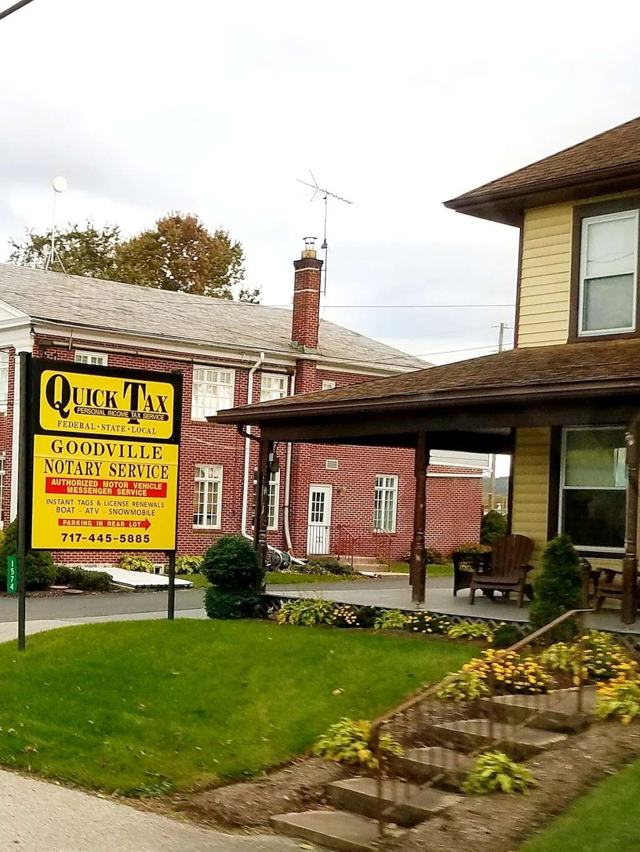 Goodville Notary - insurance agency    Photo 2 of 2   Address: 1574 Main St, Goodville, PA 17528, USA   Phone: (717) 355-0405