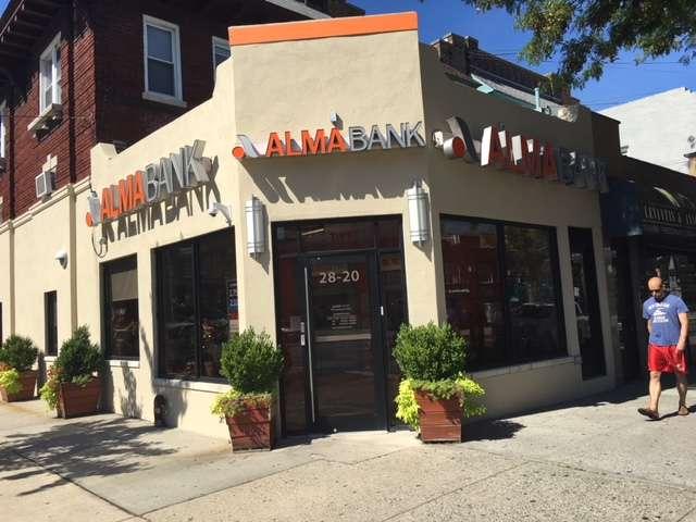 Alma Bank - bank    Photo 1 of 1   Address: 28-20 Ditmars Blvd, Astoria, NY 11105, USA   Phone: (718) 721-3600