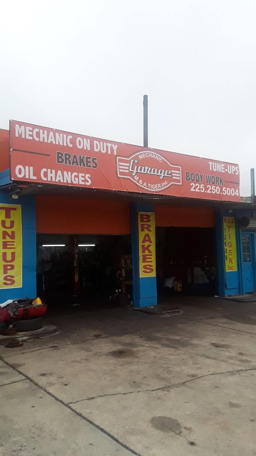 M&A Tiger inc mechanic shop - car repair  | Photo 5 of 5 | Address: 12689 Florida Blvd, Baton Rouge, LA 70815, USA | Phone: (225) 250-5004
