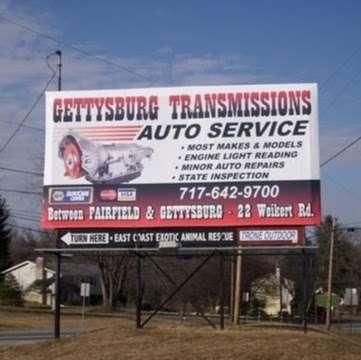 Gettysburg Transmission LLC - car repair  | Photo 2 of 2 | Address: 22 Weikert Rd, Gettysburg, PA 17325, USA | Phone: (717) 642-9700