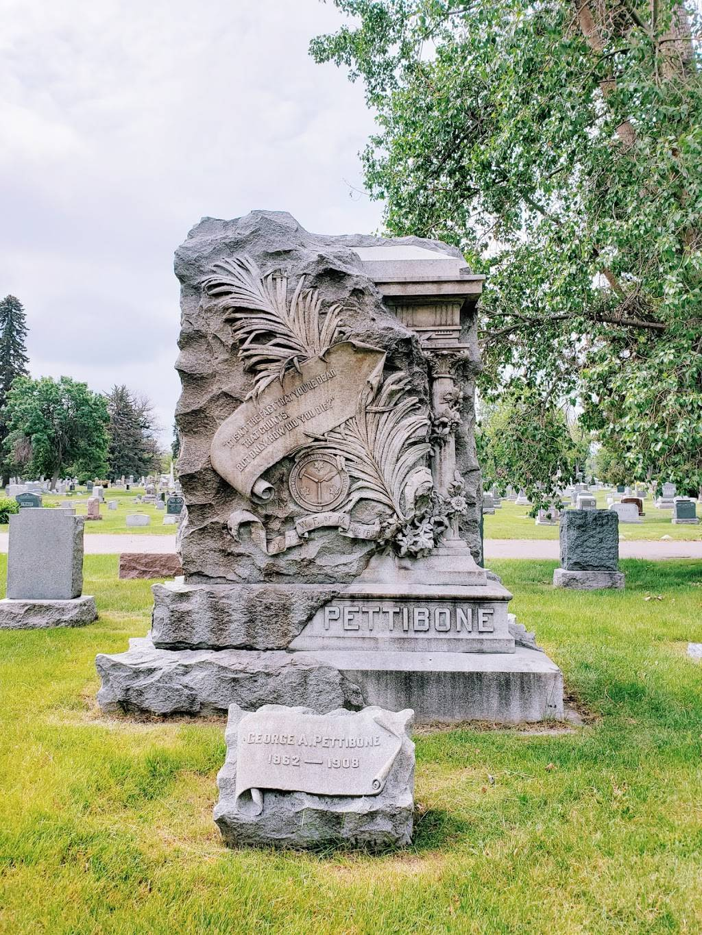 Fairmount Cemetery - cemetery  | Photo 8 of 9 | Address: 430 S Quebec St, Denver, CO 80247, USA | Phone: (303) 399-0692