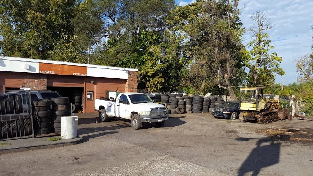 Charles Tire - car repair  | Photo 4 of 7 | Address: 1572 St Clair Ave, East St Louis, IL 62205, USA | Phone: (618) 274-3168