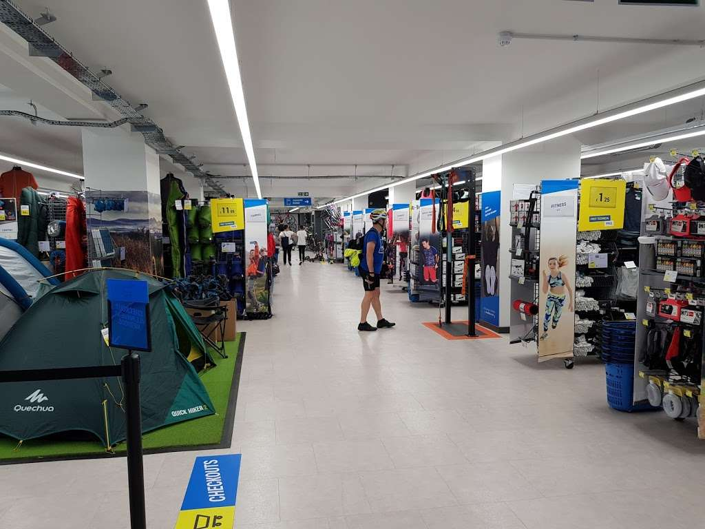Decathlon High Street Kensington - bicycle store  | Photo 1 of 10 | Address: 146-158 Kensington High St, Kensington, London W8 7RL, UK | Phone: 07483 051426