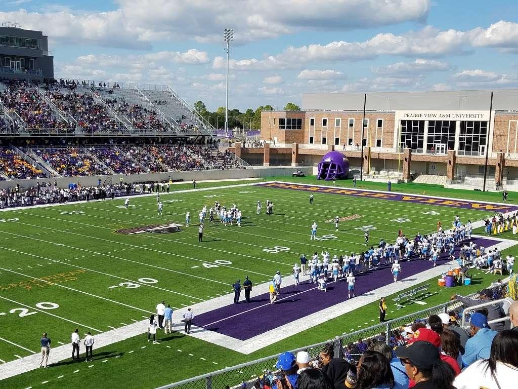 PVAMU - Panther Stadium - stadium  | Photo 1 of 10 | Address: 1600 Stadium Dr, Prairie View, TX 77445, USA | Phone: (936) 261-9100
