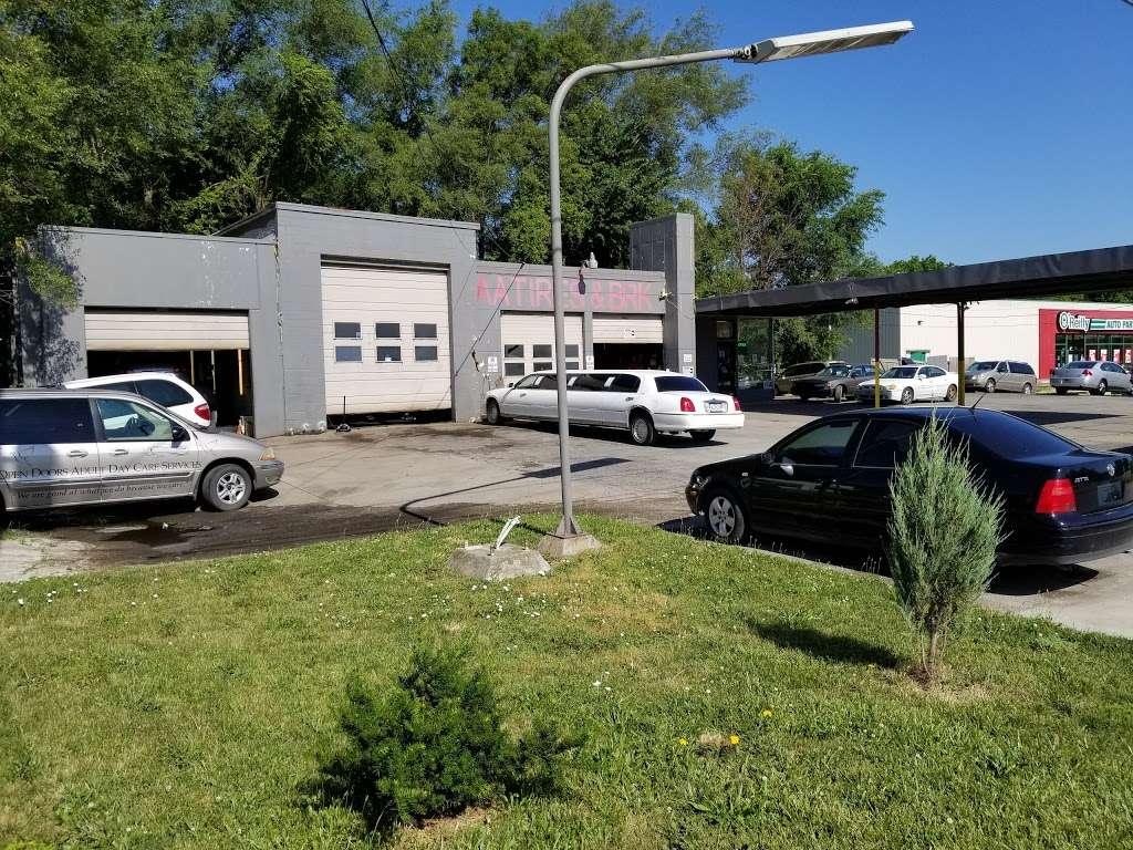 OneStop Auto repair & Tires LLC - car repair    Photo 4 of 5   Address: 10612 Blue Ridge Blvd, Kansas City, MO 64134, USA   Phone: (816) 469-5405