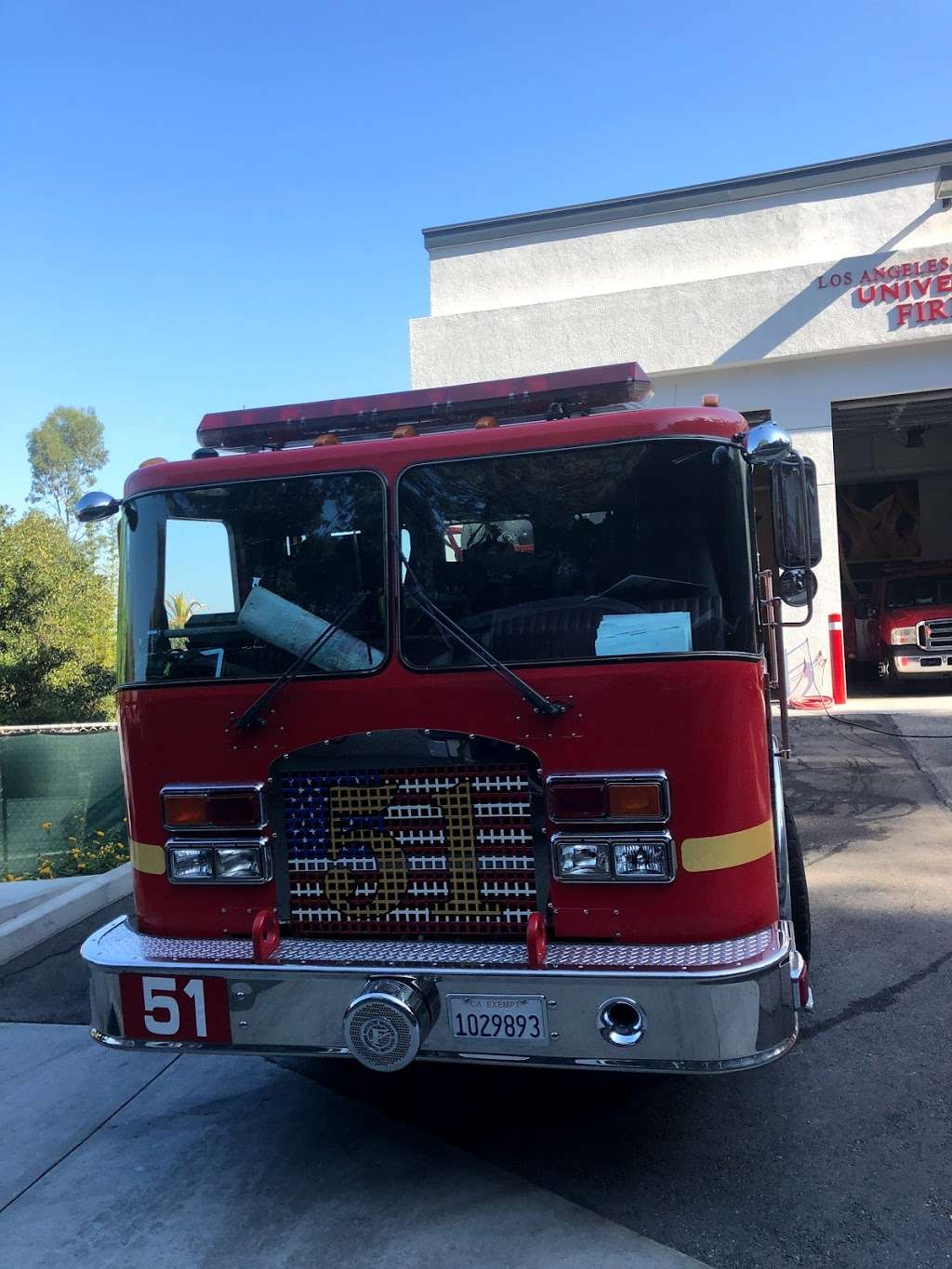Los Angeles County Fire Dept. Station 51 - fire station  | Photo 6 of 8 | Address: 3900 Lankershim Blvd, North Hollywood, CA 91602, USA | Phone: (323) 877-4412