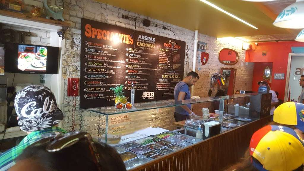 Arepa Factory - restaurant  | Photo 1 of 10 | Address: 147 Avenue A, New York, NY 10009, USA | Phone: (646) 490-6828