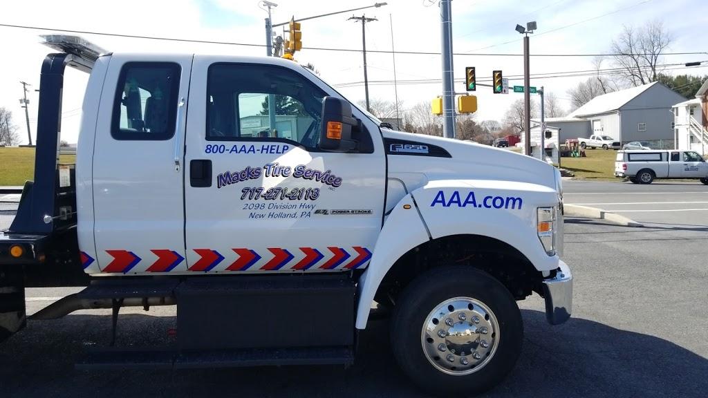 Macks Tire Service Inc. - car repair  | Photo 5 of 7 | Address: 2098 Division Hwy, New Holland, PA 17557, USA | Phone: (717) 271-2113