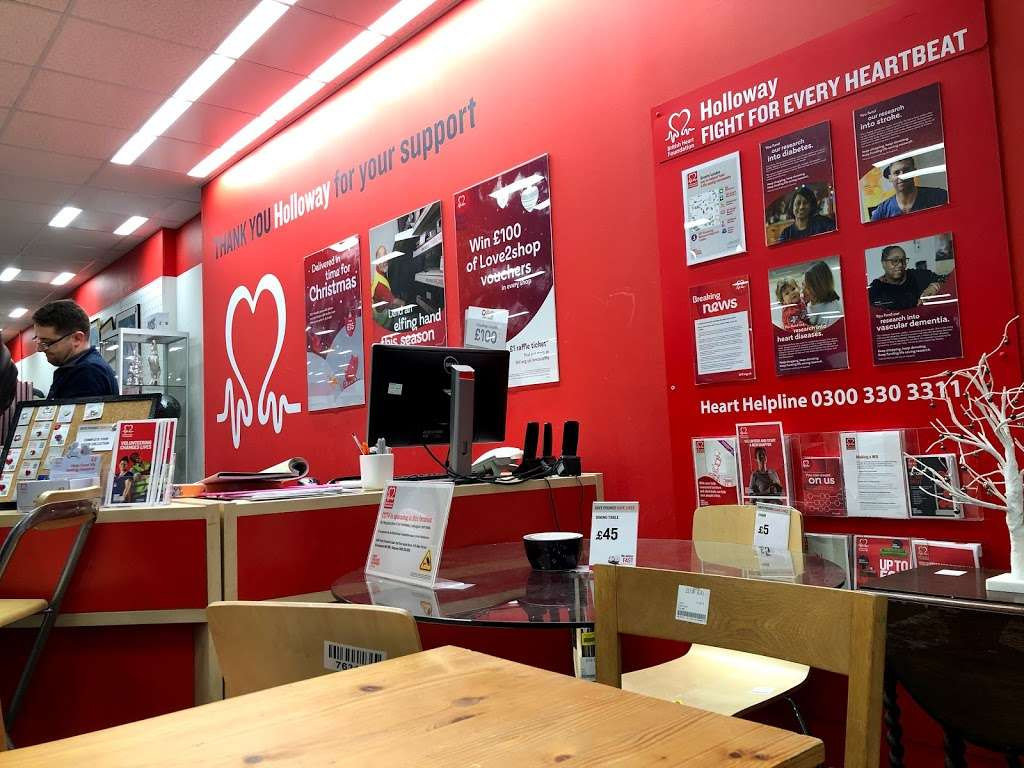 British Heart Foundation Furniture & Electrical - furniture store    Photo 6 of 9   Address: 83 Seven Sisters Rd, Holloway, London N7 6BU, UK   Phone: 020 3553 8090