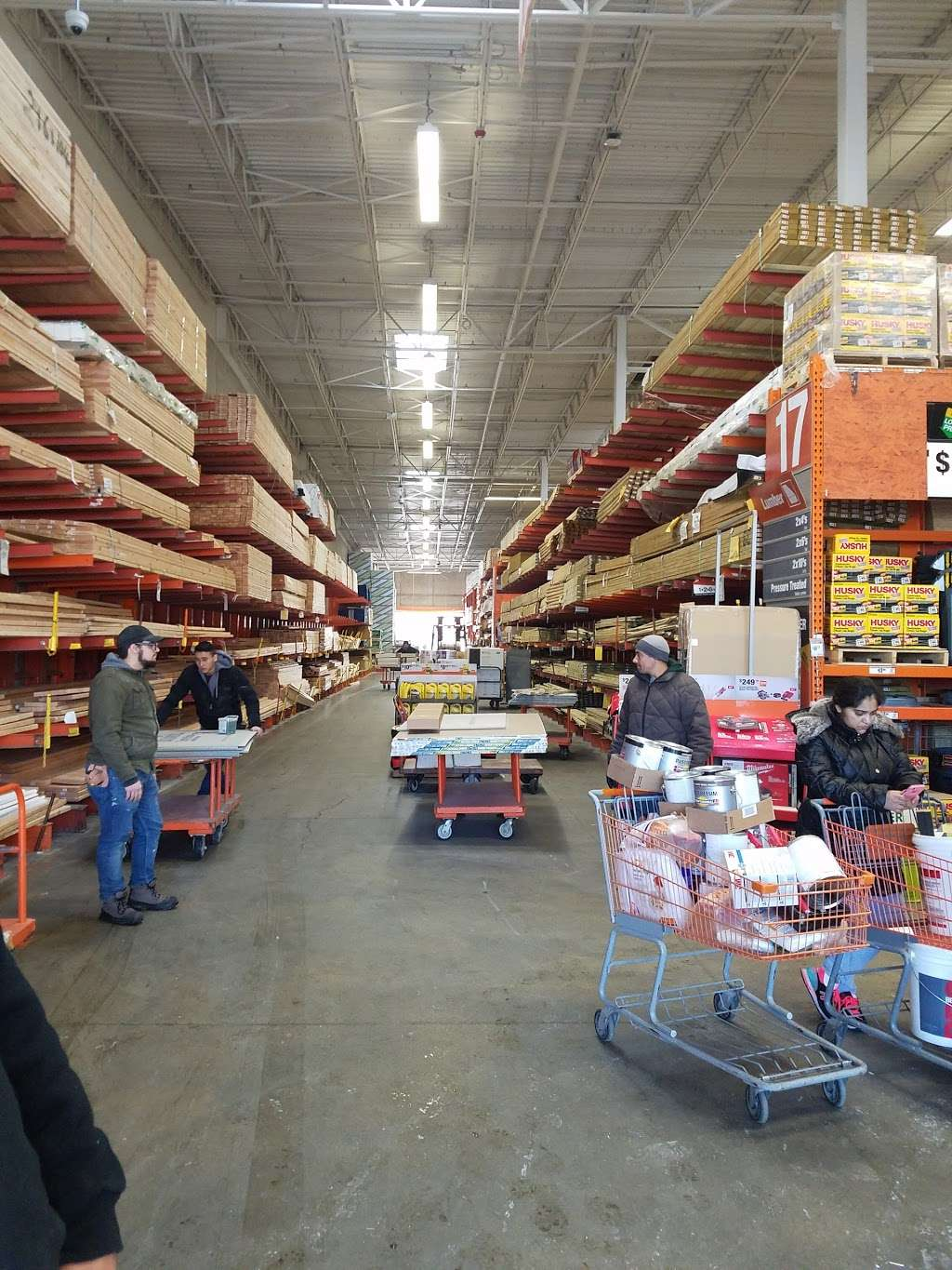 The Home Depot - hardware store  | Photo 9 of 10 | Address: 1055 Paterson Plank Rd, Secaucus, NJ 07094, USA | Phone: (201) 271-1200