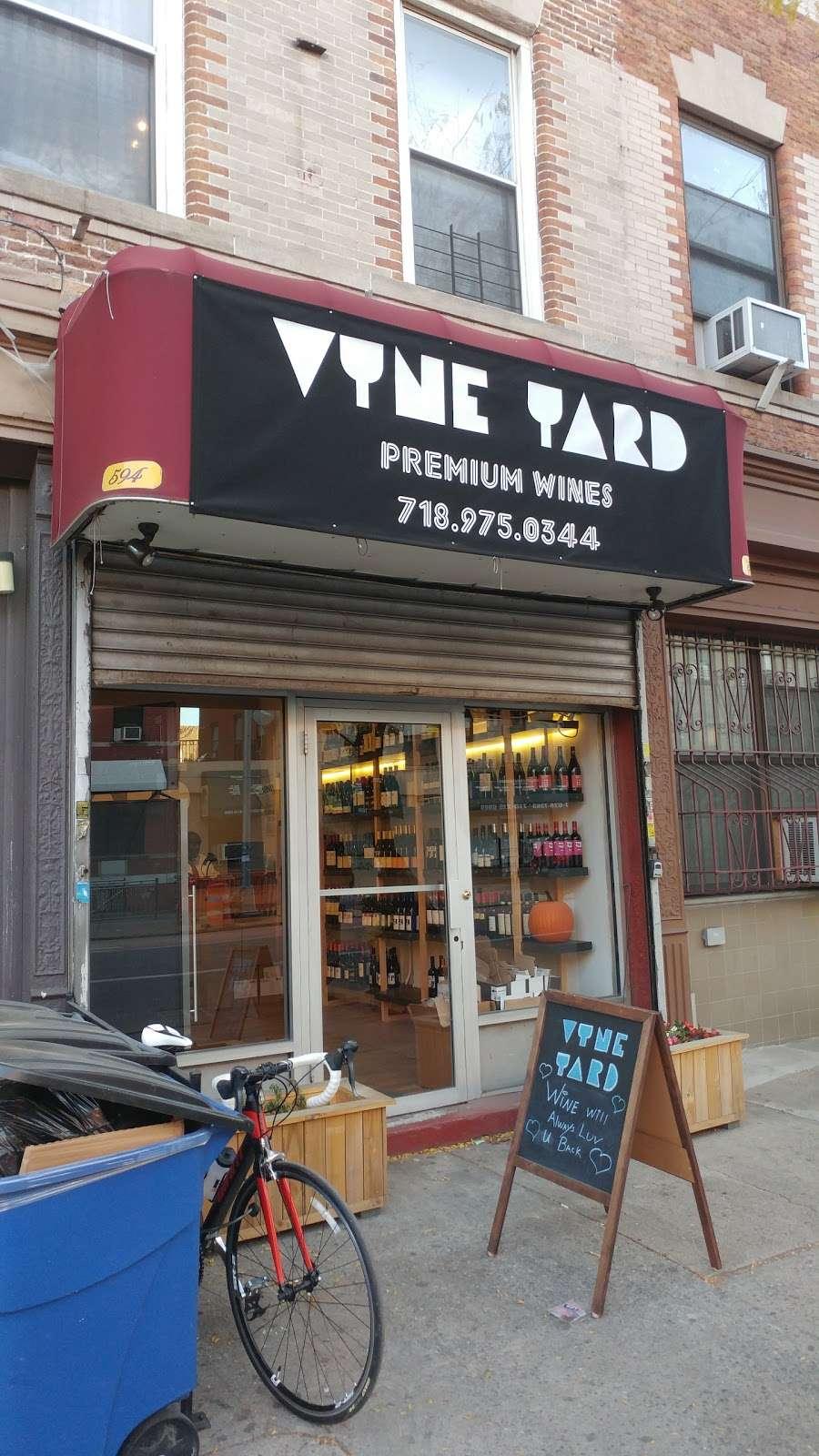 Vyne Yard Wine Shop - store  | Photo 1 of 2 | Address: 594 Rogers Ave, Brooklyn, NY 11225, USA | Phone: (718) 975-0344