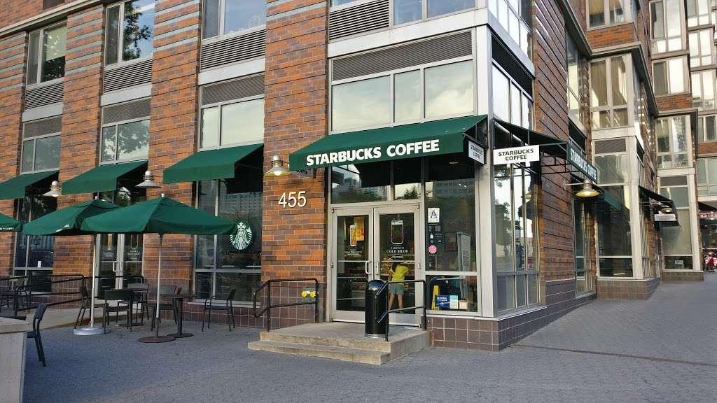 Starbucks - cafe    Photo 3 of 10   Address: 455 Main St, New York, NY 10044, USA   Phone: (212) 371-1298
