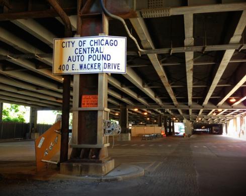 City of Chicago Central Auto Pound - storage  | Photo 6 of 10 | Address: 400 E Lower Wacker Dr, Chicago, IL 60601, USA | Phone: (312) 744-7550