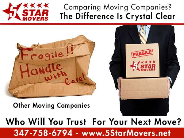 5 Stars Movers - moving company  | Photo 8 of 10 | Address: 347 E 104th St, New York, NY 10029, USA | Phone: (212) 372-7489