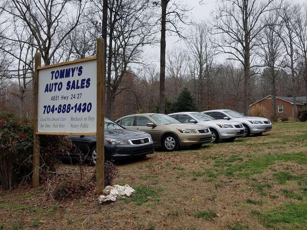 Tommys Auto Sales >> Tommy S Auto Sales Car Dealer 4651 Nc 24 Midland Nc
