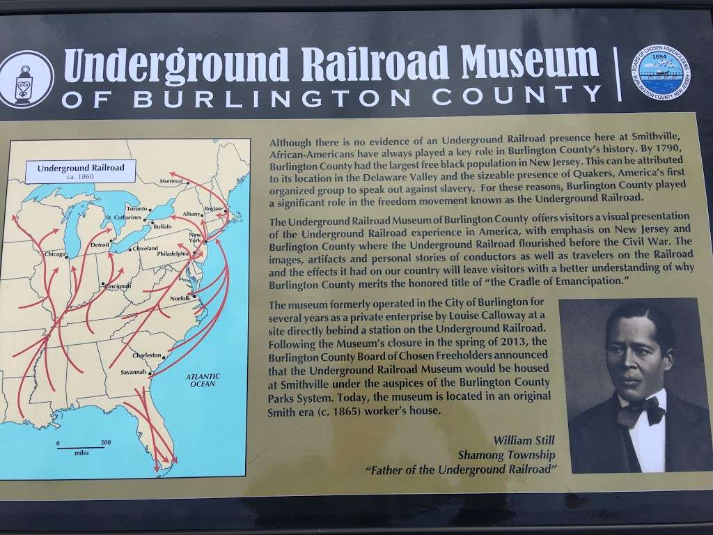 Underground Railroad of Burlington County - museum  | Photo 8 of 10 | Address: 803 Smithville Rd, Mt Holly, NJ 08060, USA | Phone: (609) 500-3429