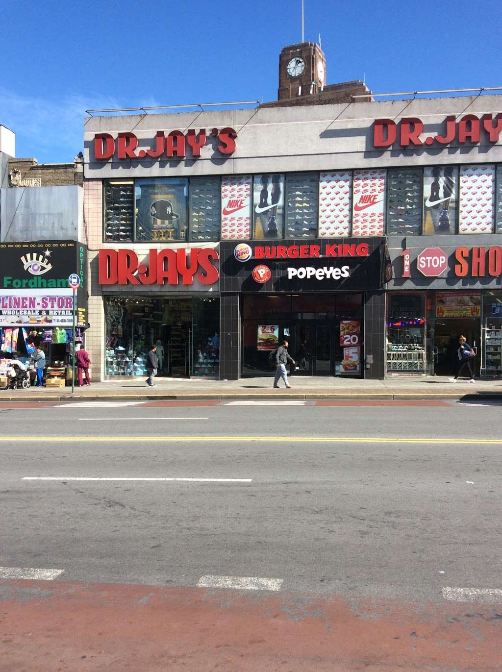 Burger King - restaurant  | Photo 2 of 9 | Address: 213-215 E Fordham Rd, The Bronx, NY 10458, USA | Phone: (347) 344-6815
