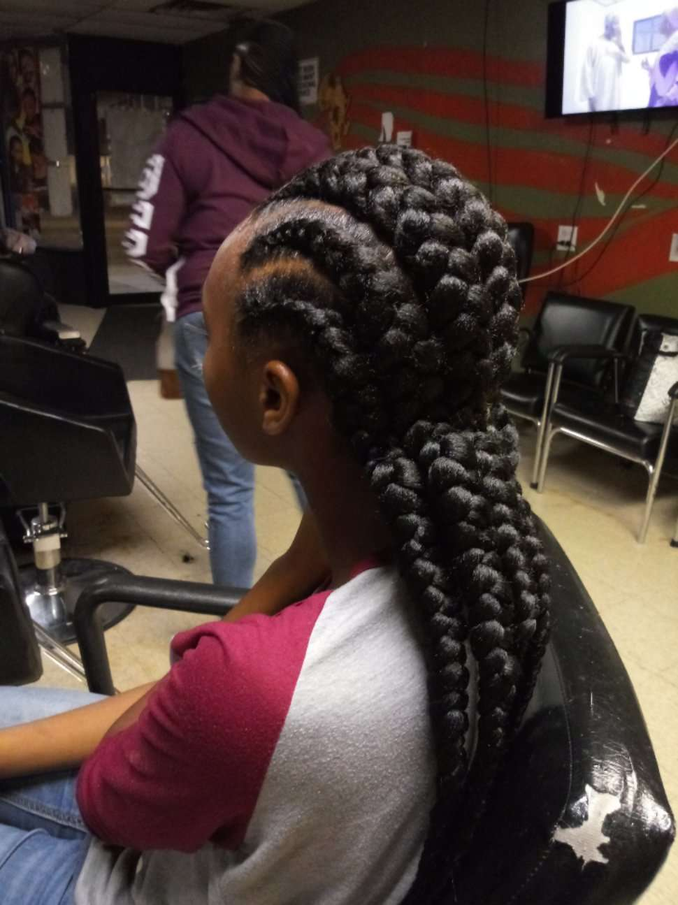 Manoro's African Hair Braiding - hair care  | Photo 7 of 10 | Address: 6454 S Cottage Grove Ave, Chicago, IL 60637, USA | Phone: (773) 667-8886