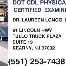 DOT CDL Physicals - doctor  | Photo 2 of 10 | Address: TULLO Truck Plaza, 61 Lincoln Highway Ste 19, Kearny, NJ 07032, USA | Phone: (551) 253-7438
