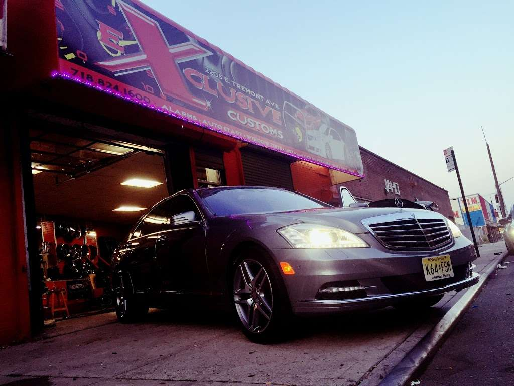 eXclusive custom - car repair  | Photo 1 of 1 | Address: 2205 E Tremont Ave, The Bronx, NY 10462, USA | Phone: (347) 334-8251