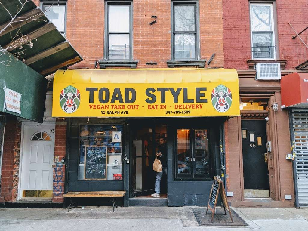 Toad Style - meal delivery    Photo 3 of 10   Address: 93 Ralph Ave, Brooklyn, NY 11221, USA   Phone: (347) 789-1589