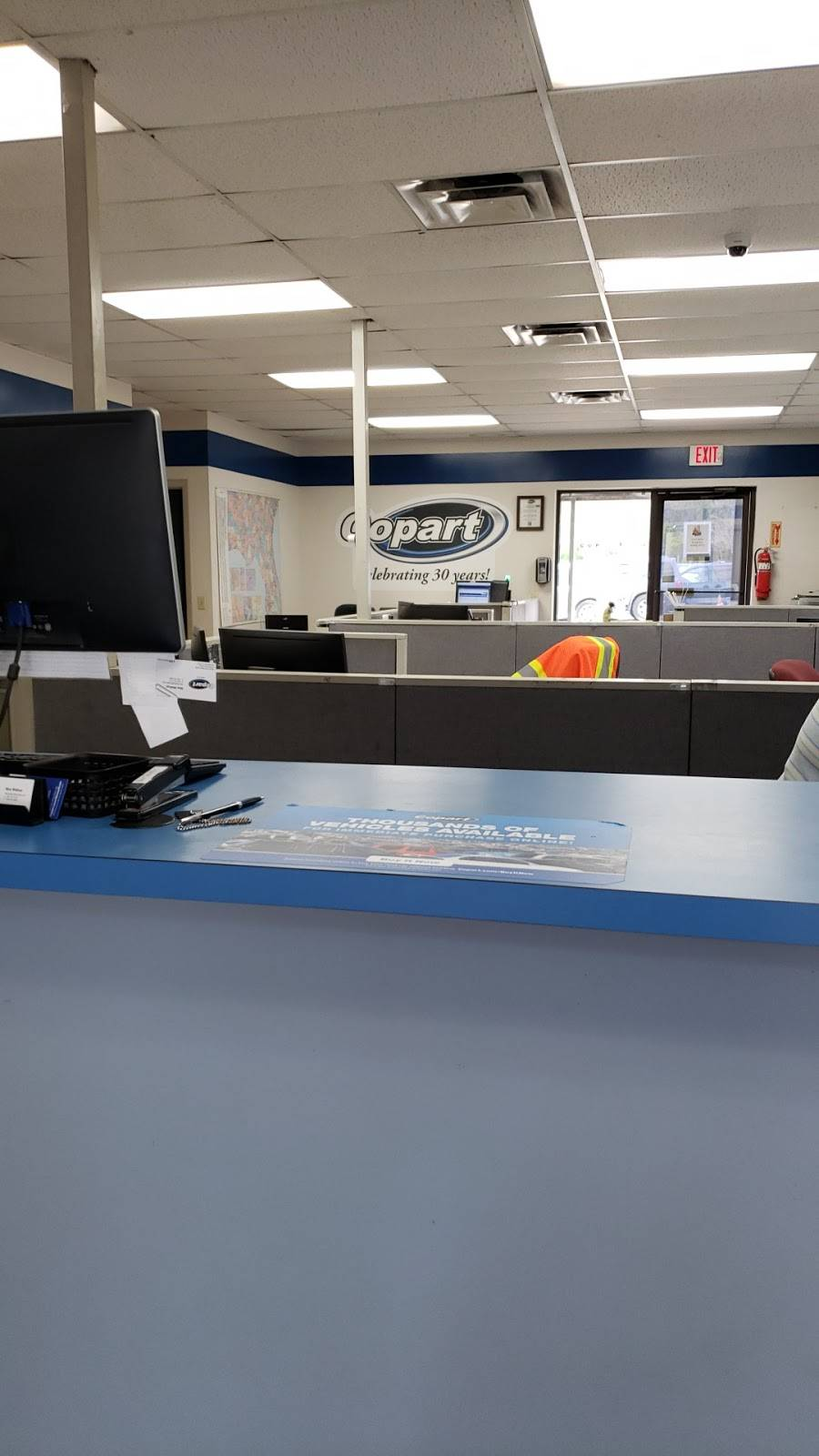 Copart - Jacksonville West - car dealer  | Photo 6 of 10 | Address: 450 Hammond Blvd Building 1, Jacksonville, FL 32220, USA | Phone: (904) 781-3141