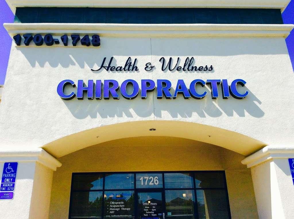 Health & Wellness Chiropractic - health    Photo 1 of 10   Address: 1726 N Vasco Rd, Livermore, CA 94551, USA   Phone: (925) 583-5888