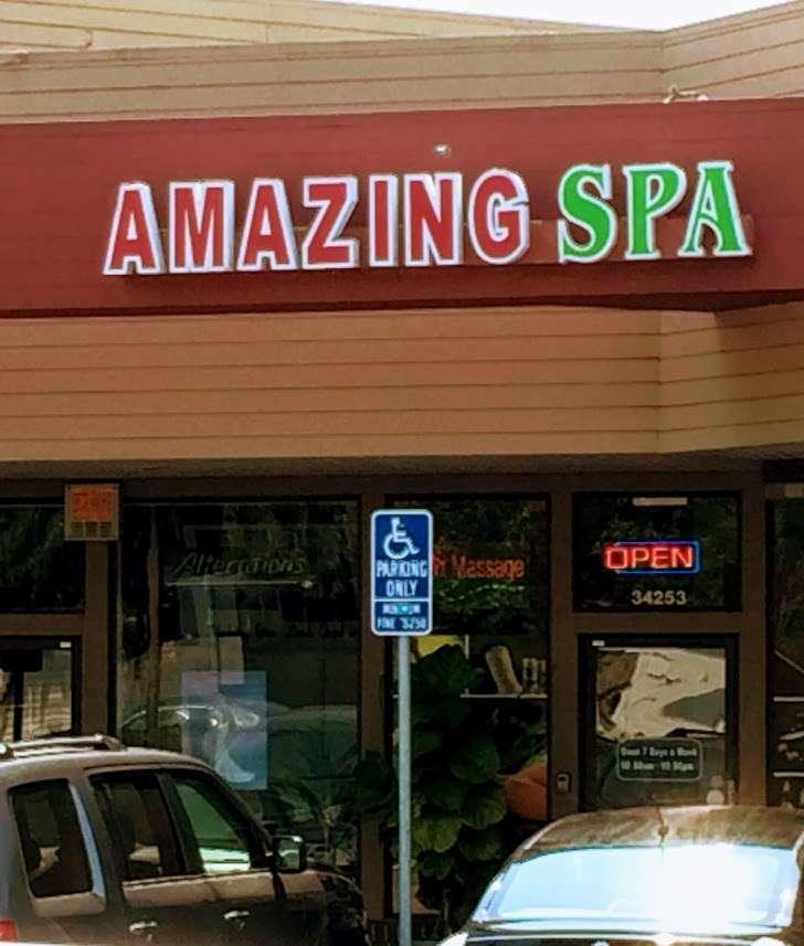 Amazing Spa - spa    Photo 1 of 1   Address: 34253 Fremont Blvd, Fremont, CA 94555, USA   Phone: (510) 795-7533