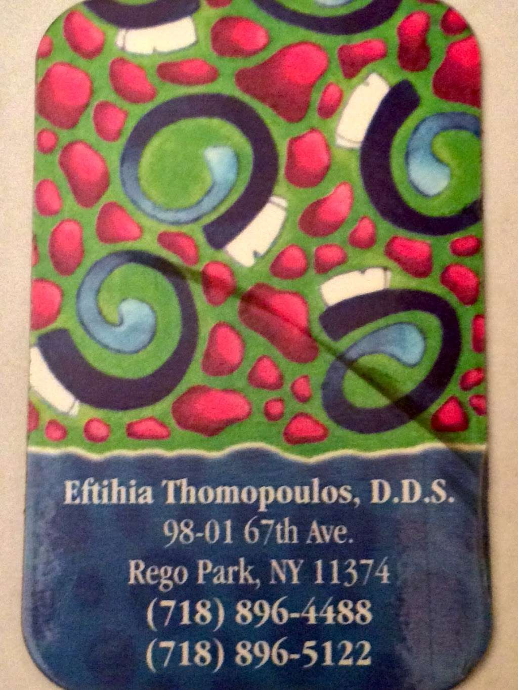 Thomopoulos Eftihia DDS - dentist  | Photo 1 of 10 | Address: 98-01 67th Ave, Rego Park, NY 11374, USA | Phone: (718) 896-5122