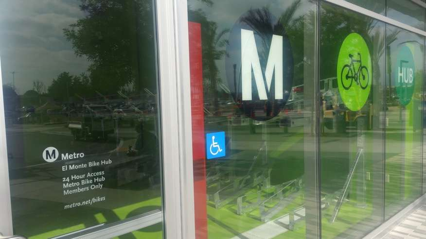 Metro Bike Hub El Monte - parking  | Photo 4 of 8 | Address: 3501 Santa Anita Ave A, El Monte, CA 91731, USA | Phone: (888) 659-2291