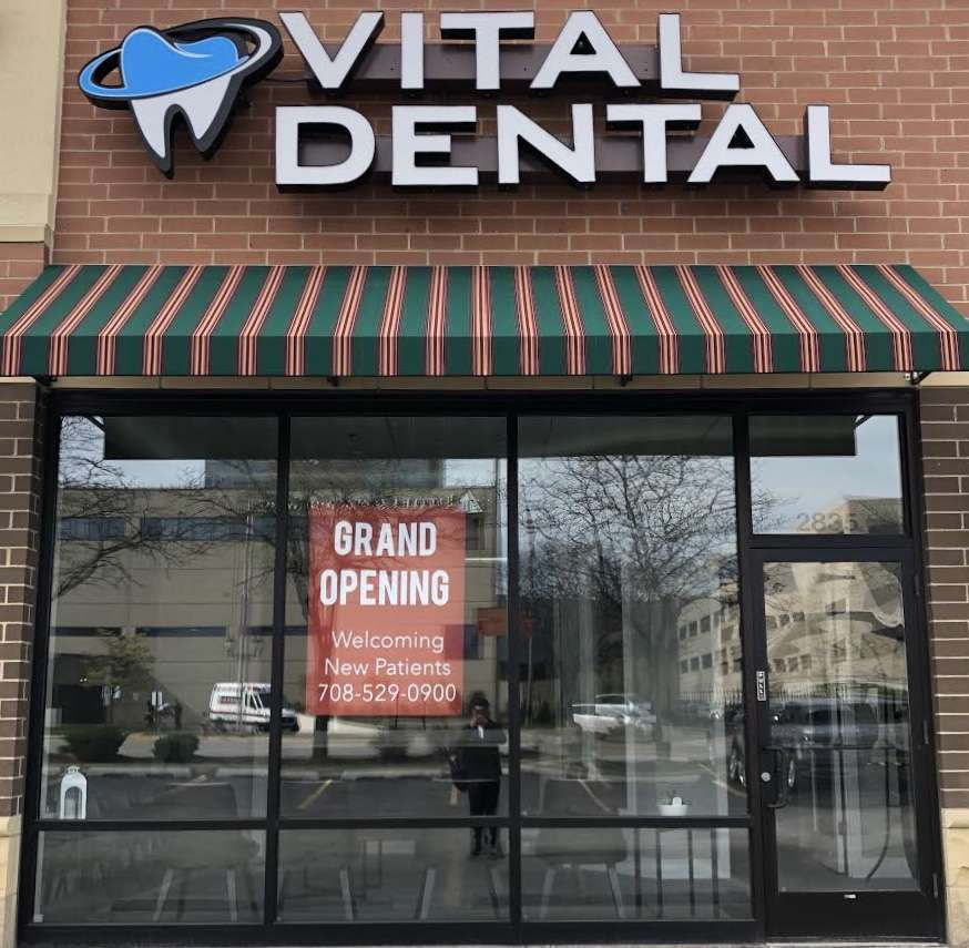 Vital Dental Care - dentist  | Photo 1 of 10 | Address: 2835 W 95th St, Evergreen Park, IL 60805, USA | Phone: (708) 529-0900