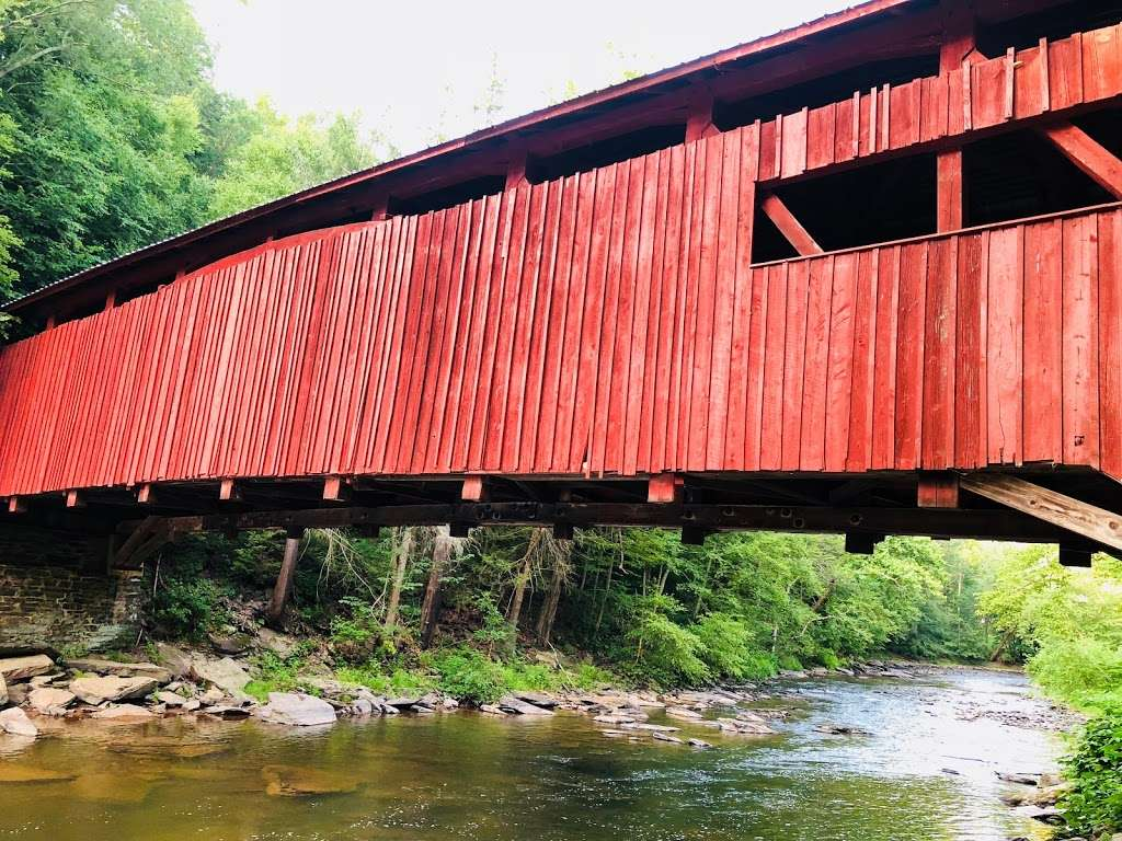 Josiah Hess Covered Bridge - museum  | Photo 4 of 10 | Address: Winding Rd, Orangeville, PA 17859, USA