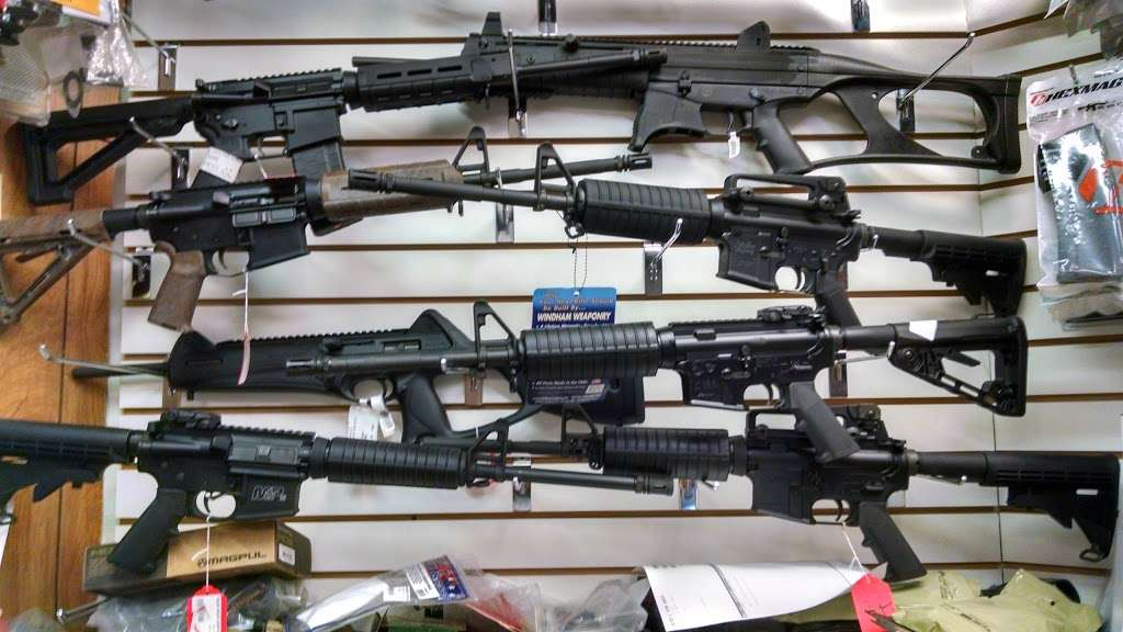 Mikes Gun Shop - store    Photo 3 of 6   Address: 355 Anderson Ave, Fairview, NJ 07022, USA   Phone: (201) 941-5661