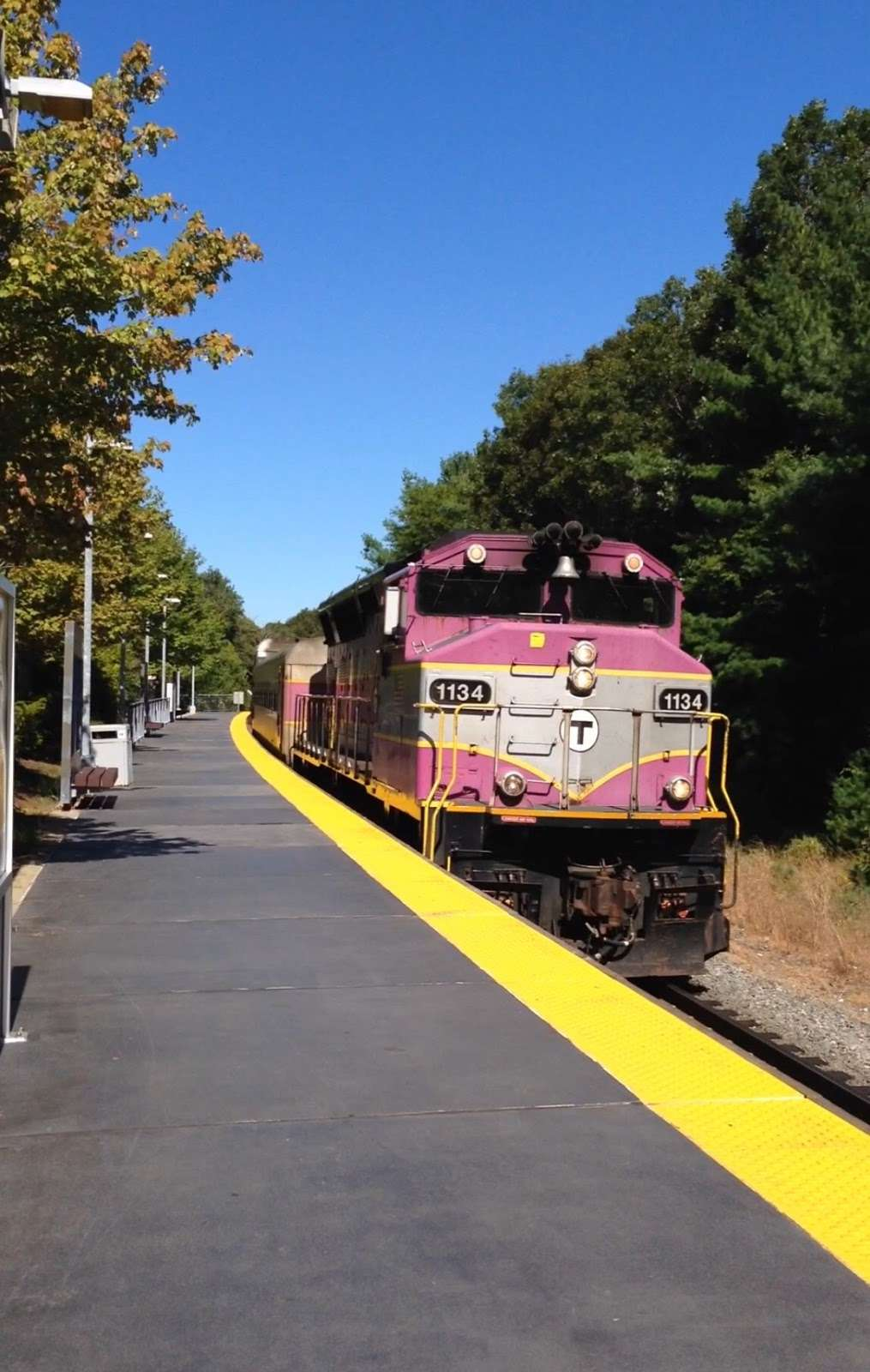 Middleboro/Lakeville - train station    Photo 2 of 4   Address: Commercial Dr, Lakeville, MA 02347, USA   Phone: (617) 222-3200